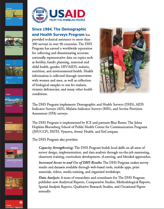 The DHS Program - Marked improvements in maternal and child health
