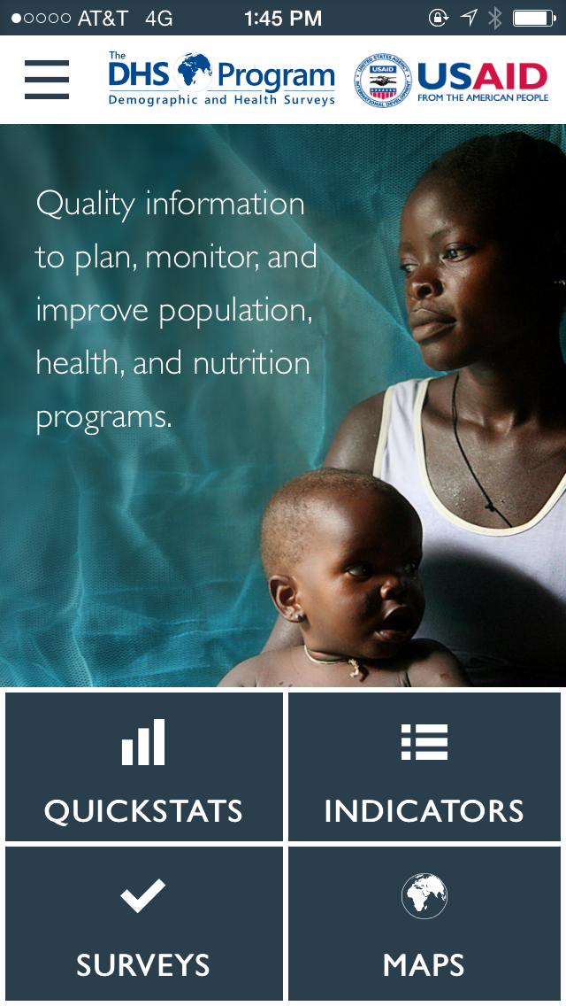 The DHS Program - Mobile App