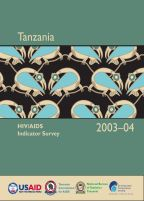 Cover of Tanzania AIS, 2003-04 - Final Report (English)