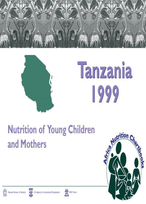 Cover of Tanzania 1999, Nutrition of Young Children and Mothers (English)