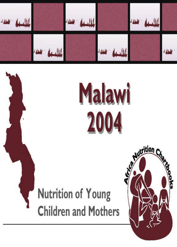 Cover of Malawi 2004, Nutrition of Young Children and Mothers (English)