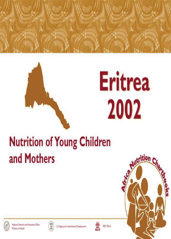 Cover of Eritrea 2002, Nutrition of Young Children and Mothers (English)