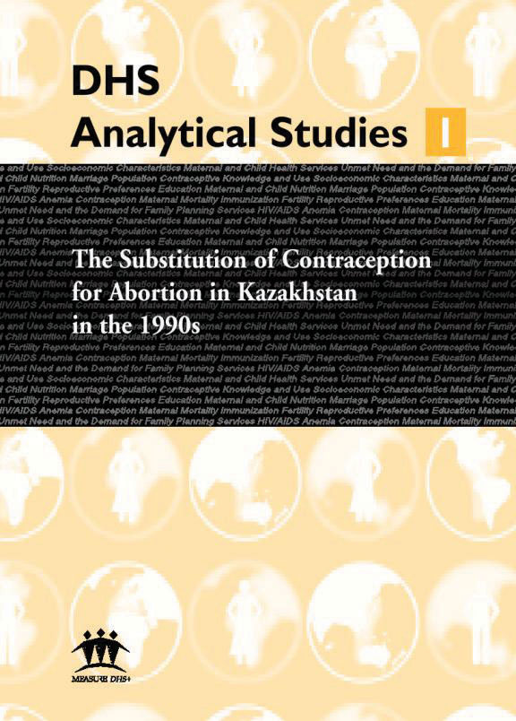 Cover of The Substitution of Contraception for Abortion in Kazakhstan in the 1990's (English)