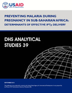 Cover of Preventing Malaria during Pregnancy in Sub-Saharan Africa: Determinants of Effective IPTp Delivery (English)