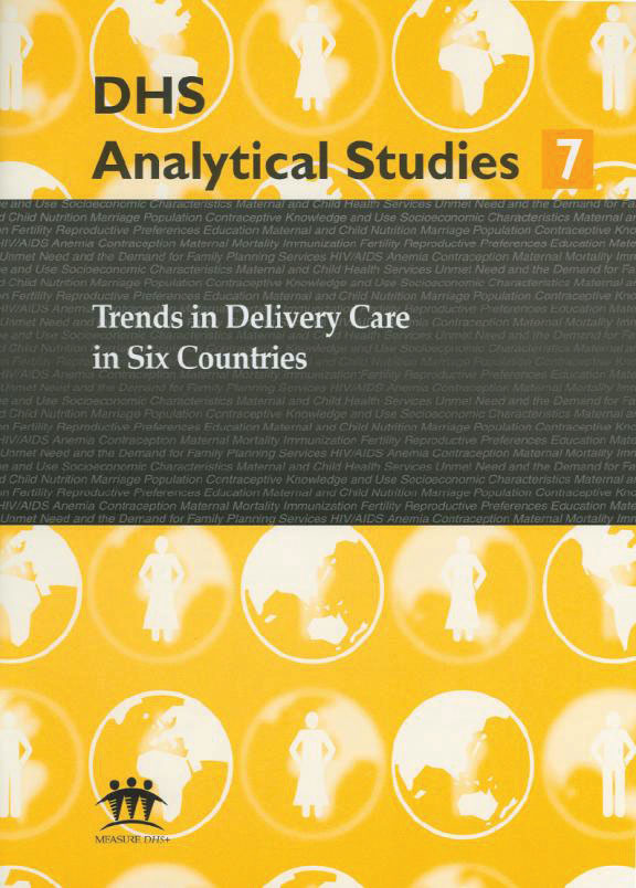 Cover of Trends in Delivery Care in Six Countries (English)