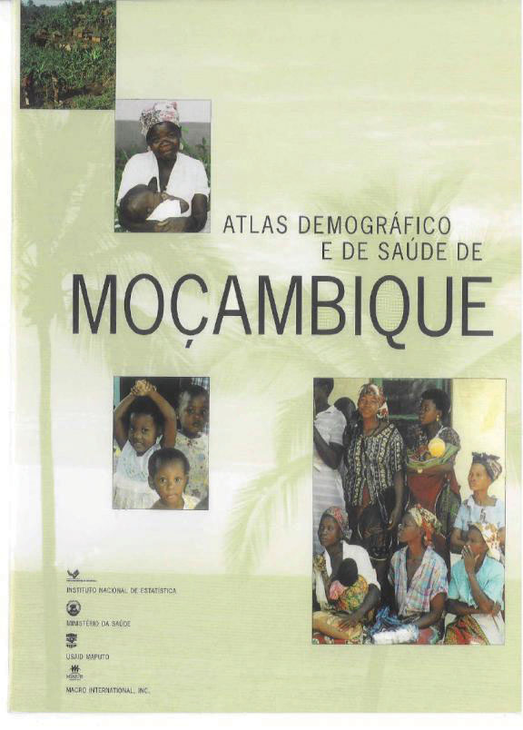 Cover of Atlas Demográfico e de Saúde de Mocambique (Portuguese)