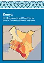 Cover of Kenya 2014 Demographic and Health Survey - Atlas of County-level Health Indicators (English)
