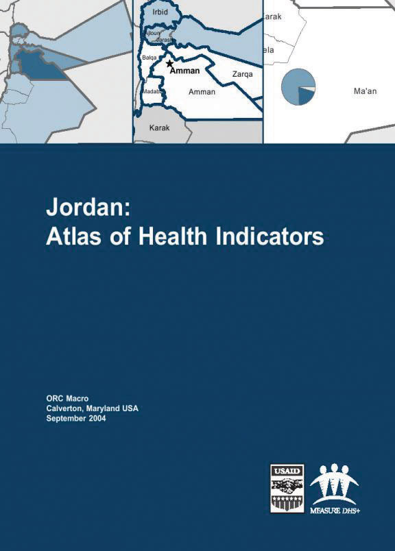 Cover of Jordan: Atlas of Health Indicators (English)