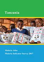 Cover of Tanzania Malaria Atlas - Malaria Indicator Survey 2017 (Kiswahili) (English)