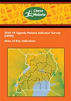Cover of Uganda Malaria Atlas - Malaria Indicator Survey 2018-19 (English)