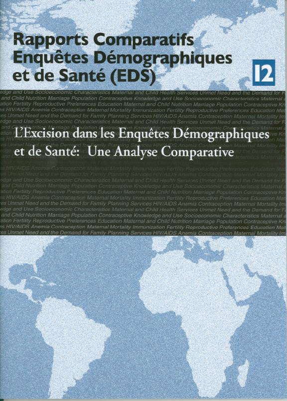 Cover of L'Excision dans les Enquetes Demographiques et de Sante: Une Analyse Comparative (French)