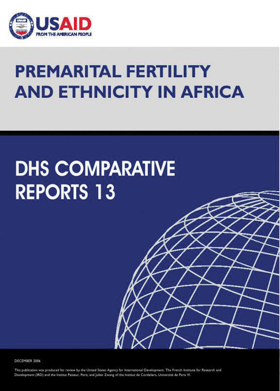 Cover of Premarital Fertility and Ethnicity in Africa (English)