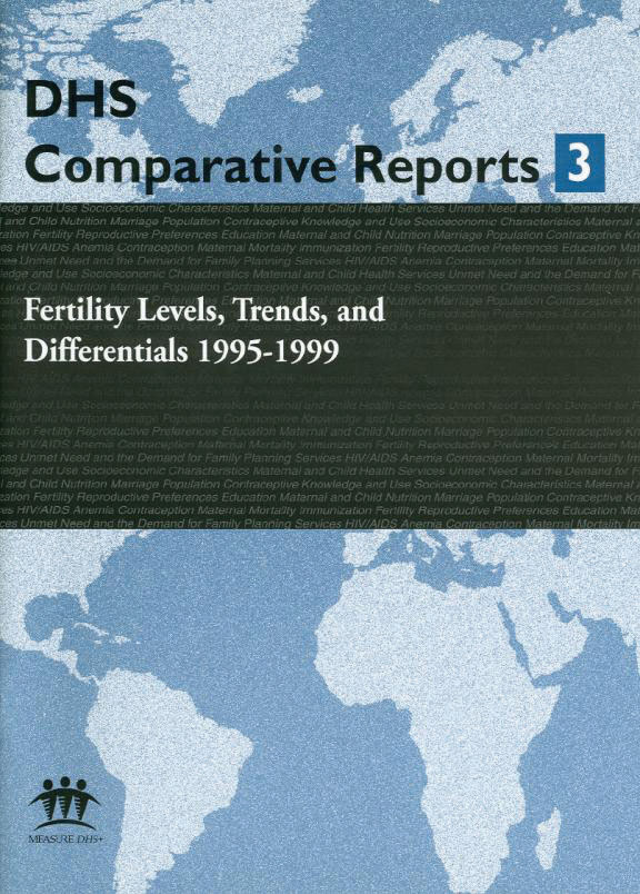 Cover of Fertility Levels, Trends, and Differentials 1995-1999 (English)