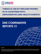 Cover of Tobacco Use by Men and Women in 49 Countries with Demographic and Health Surveys (English)