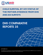 Cover of Child Survival by HIV Status of the Mother: Evidence from DHS and AIS Surveys (English)