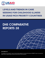 Cover of Levels and Trends in Care Seeking for Childhood Illness in USAID MCH Priority Countries (English)