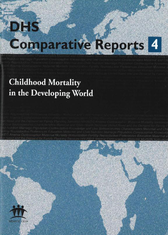 Cover of Childhood Mortality in the Developing World (English)