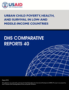 Cover of Urban Child Poverty, Health, and Survival in Low- and Middle-Income Countries (English)
