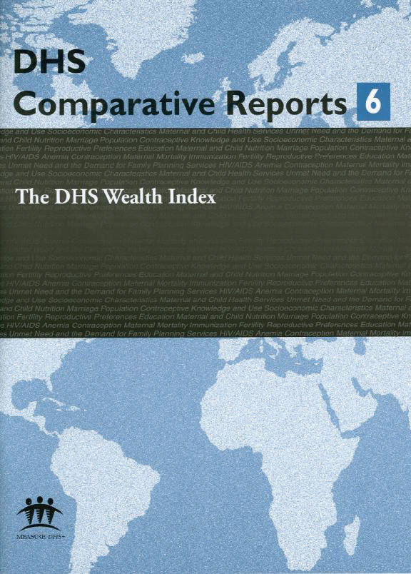 Cover of The DHS Wealth Index (English)