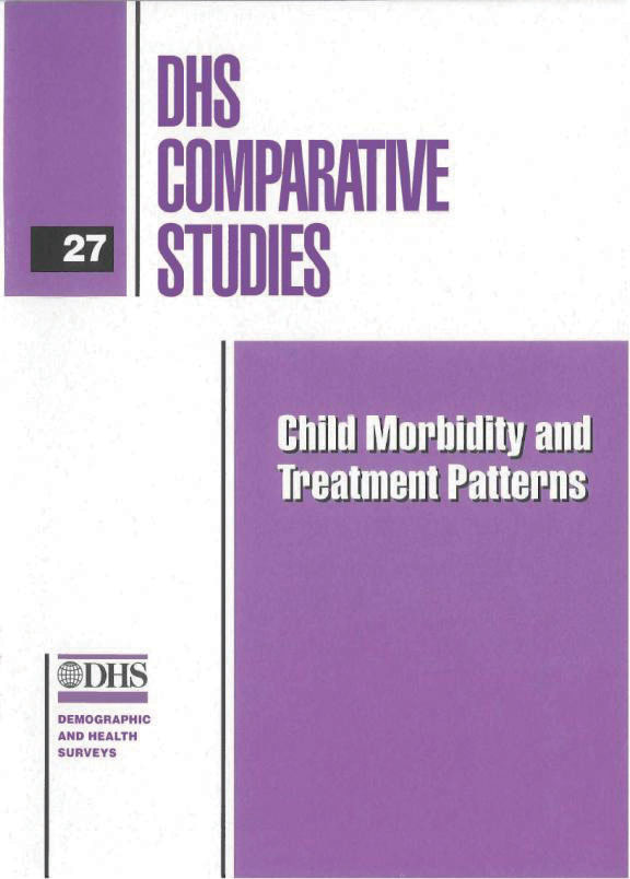 Cover of Child Morbidity and Treatment Patterns (English)