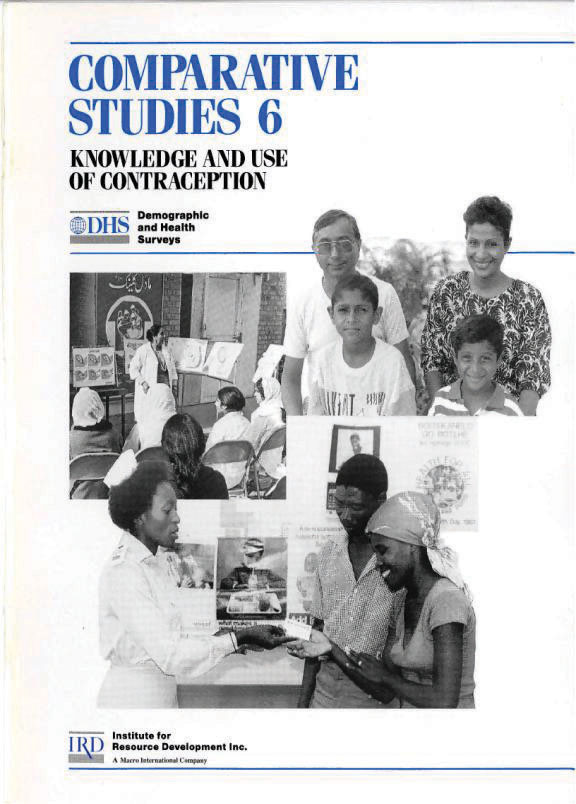 Cover of Knowledge and Use of Contraception (English)