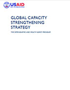 Cover of Global Capacity Strengthening Strategy (English)
