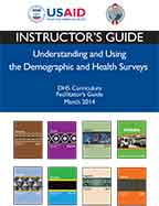 Cover of DHS Curriculum Facilitators Guide - Instructor's Guide (English)