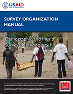 Cover of DHS Survey Organization Manual (English)
