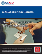 Cover of Biomarker Field Manual (English, French)