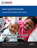 Cover of DHS Model Questionnaire - Phase 8 (English)