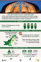 Cover of Pakistan 2017-18 DHS - Infographic (English)