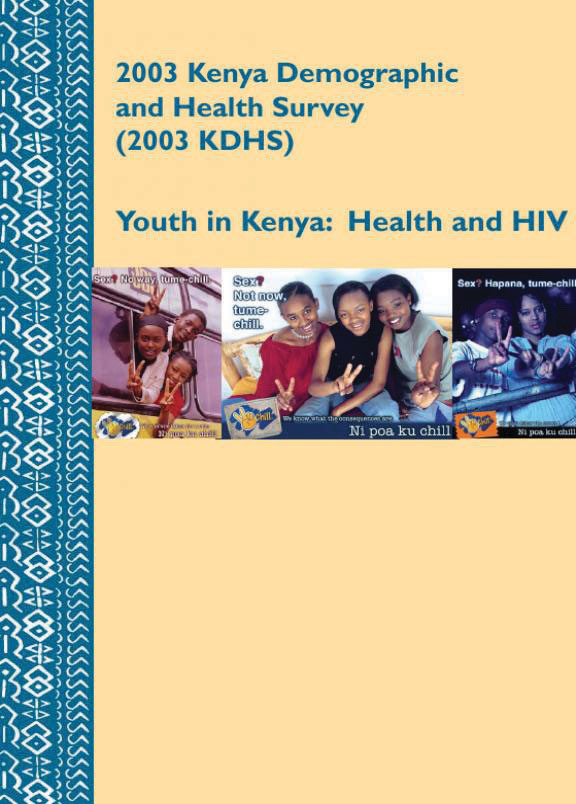 Cover of Youth in Kenya: Health and HIV (English)