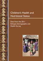 Cover of Children's Health and Nutritional Status: Data from the 2011 Ethiopia Demographic and Health Survey (English)