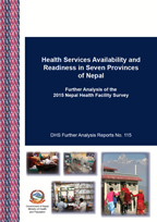 Cover of Health Services Availability and Readiness in Seven Provinces of Nepal (English)