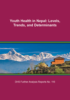 Cover of Youth Health in Nepal: Levels, Trends, and Determinants (English)
