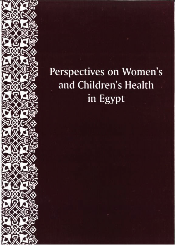 Cover of Perspectives on Women's and Children's Health in Egypt (English)