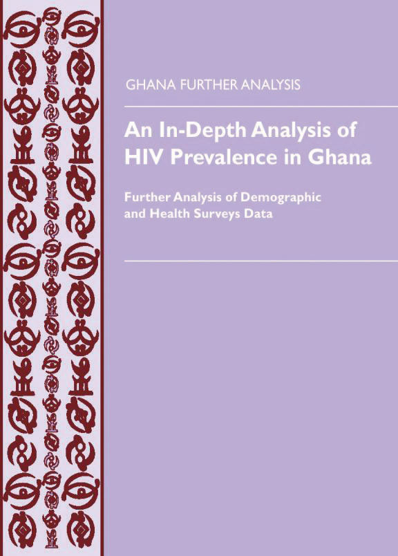 Cover of An In-Depth Analysis of HIV Prevalence in Ghana (English)