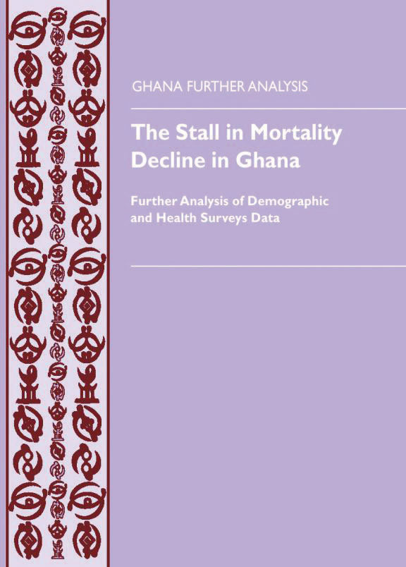 Cover of The Stall in Mortality Decline in Ghana (English)