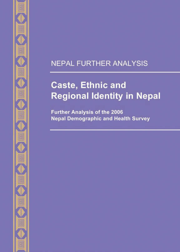 Cover of Caste, Ethnic and Regional Identity in Nepal (English)