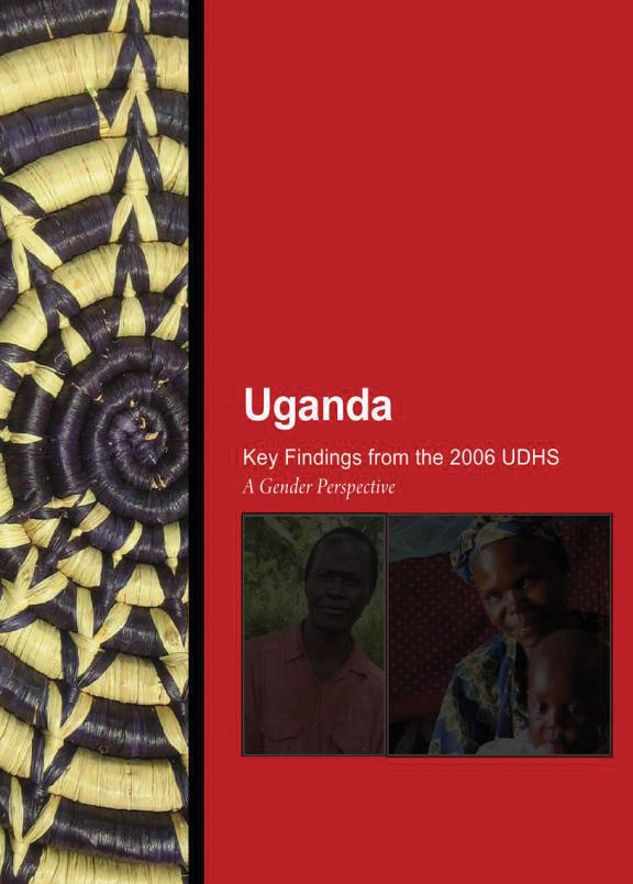 Cover of Uganda - Key Findings from the 2006 UDHS - A Gender Perspective (English)