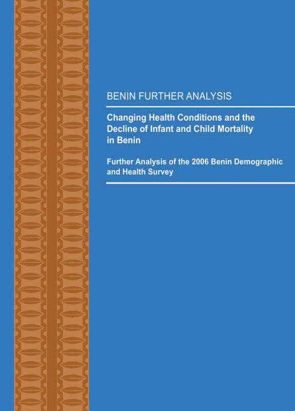 Cover of Changing Health Conditions and the Decline of Infant and Child Mortality in Benin (English, French)
