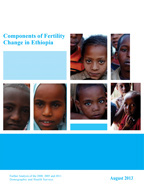 Cover of Components of Fertility Change in Ethiopia (English)