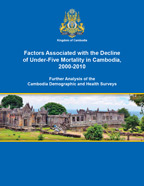Cover of Factors Associated with the Decline of Under-Five Mortality in Cambodia, 2000-2010 (English)