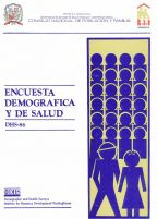 Cover of Dominican Republic DHS, 1986 - Final Report (Spanish)