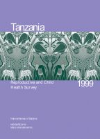 Cover of Tanzania DHS, 1999 - Final Report (English)