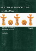 Cover of Colombia DHS, 2000 - Final Report (Spanish)