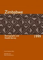 Cover of Zimbabwe DHS, 1999 - Final Report (English)