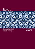 Cover of Egypt DHS, 2000 - Final Report (English)