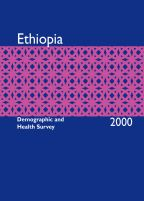 Cover of Ethiopia DHS, 2000 - Final Report (English)