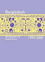 Cover of Bangladesh DHS, 1999-00 - Final Report (English)